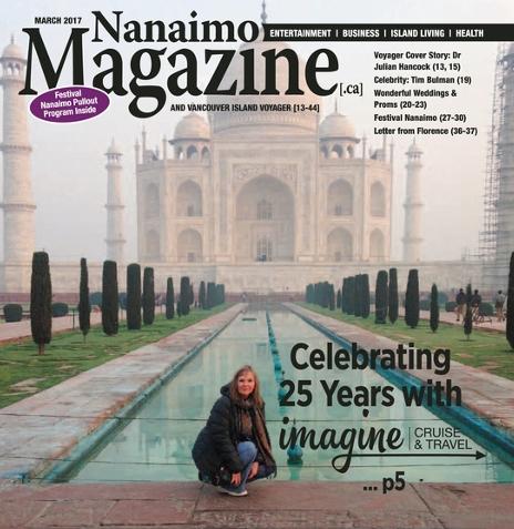 Nanaimo Magazine Imagine Cruise Cover Story