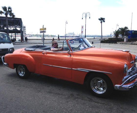 Shawn in Cuba